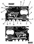Wallet ninja - multitool