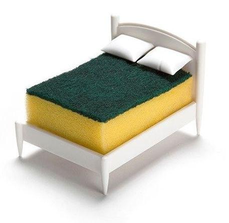 łóżko Stojak Na Gąbkę Kuchenną Plonaca Zyrafapl